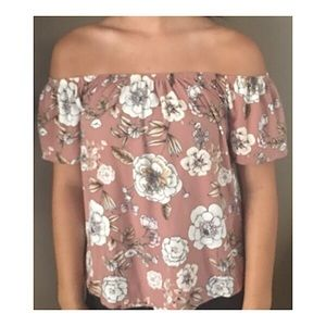 Cute off the shoulder blouse